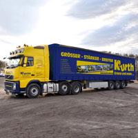 Kurth Autokrane GmbH & Co. KG Schmitz Cargobull Sattelcurtainsider Universal