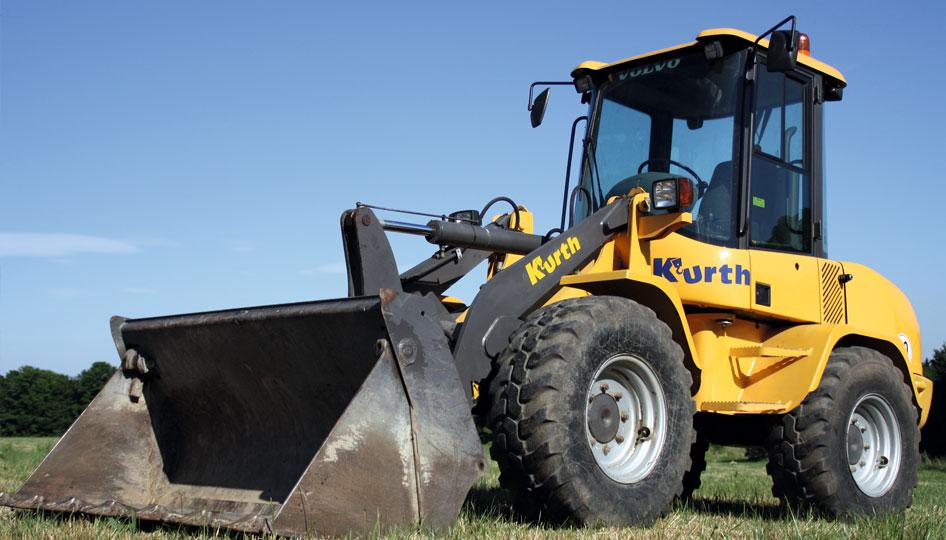 Kurth Autokrane – Hochwertige Geräte für Ihre Baustelle: Radlader & Minibagger
