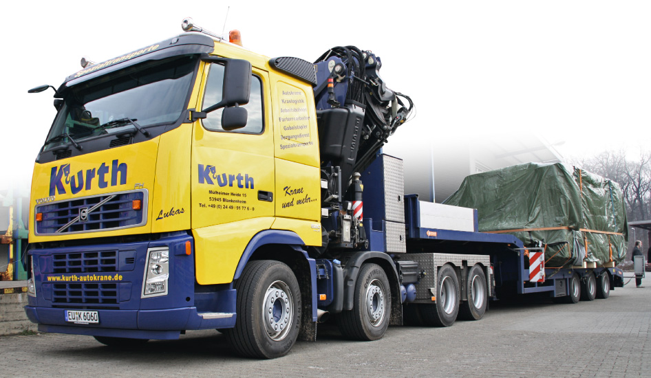 Kurth Autokrane - Maschinen- & Betriebsumzüge