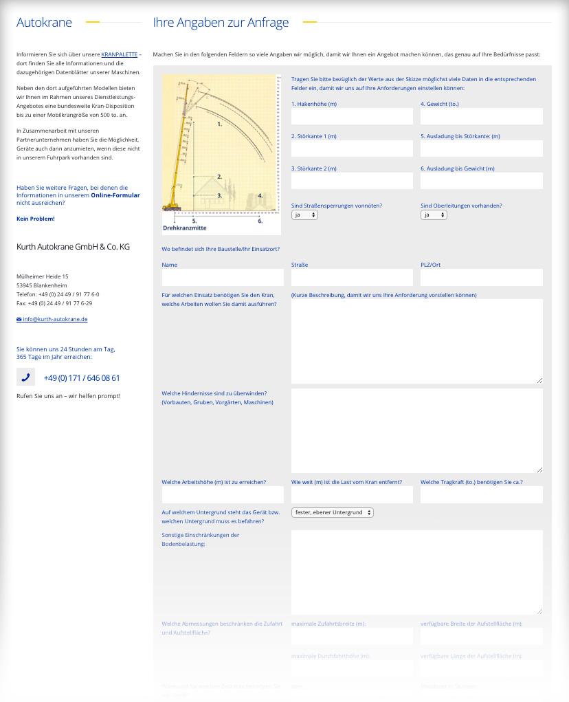 Formular-Autokrane