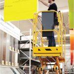 Kurth Autokrane GmbH & Co. KG – HAULOTTE OPTIMUM 8 SCHEREN-ARBEITSBÜHNE ELEKTRISCH