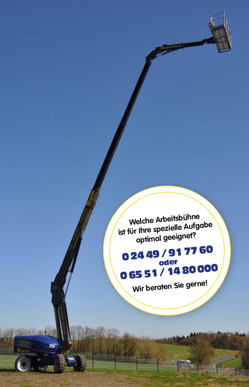 Kurth Autokrane GmbH & Co. KG: Teleskopbühne Manitou 280 TJ