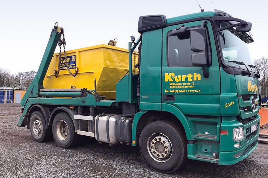 Kurth Autokrane GmbH & Co. KG – Abschleppen & Bergen: Containerfahrzeug