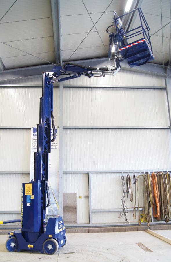 Kurth Autokrane GmbH & Co. KG | Teleskopmast-Arbeitsbühne TM120