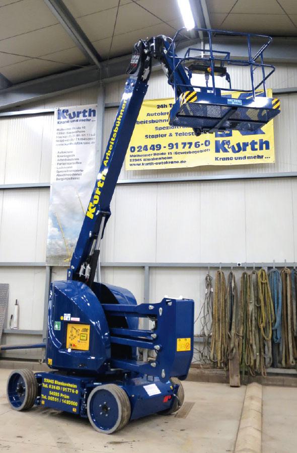 Kurth Autokrane GmbH & Co. KG | Gelenkteleskop-Arbeitsbühne GT150E