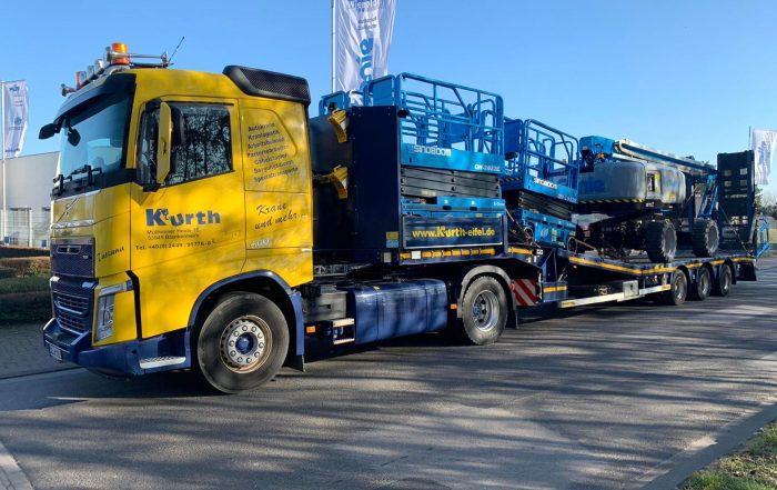 Kurth Autokrane GmbH & Co. KG | Arbeitsbühnen